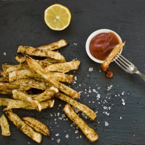 Celeriac and Cumin Fries