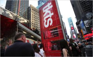 tkts booth in Time Square